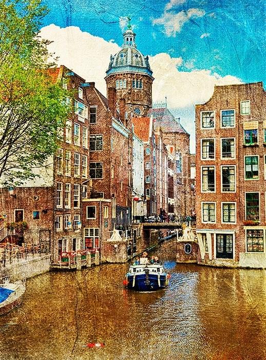 Фотообои DIVINO DECOR A-037 Амстердам 200х238см - фото 10993