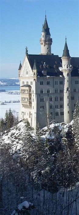 Фотообои DIVINO DECOR A-095 Замок на горе 100х270см - фото 11089