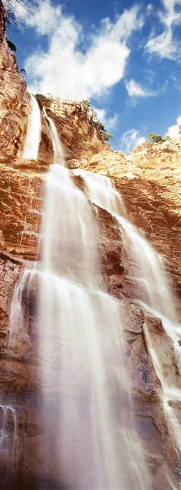 Фотообои DIVINO DECOR A-094 Горный водопад 100х270см - фото 11562