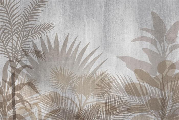 Фотообои DIVINO DECOR T-178 Пальмы узор 400х270см - фото 13746