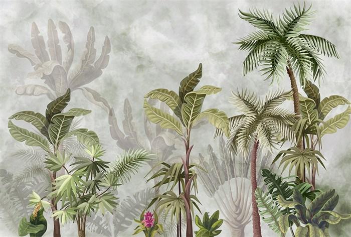 Фотообои DIVINO DECOR T-243 Тропические деревья 400х270см - фото 13755