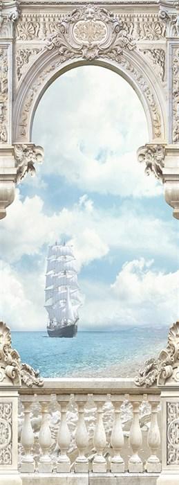Фотообои DIVINO DECOR T-031 Белые паруса 100х270см - фото 14788