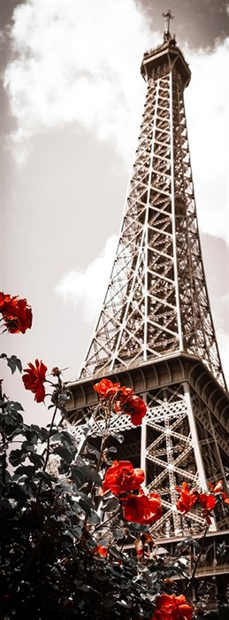 Фотообои DIVINO DECOR A-085 Весна в Париже 100х270см - фото 15455