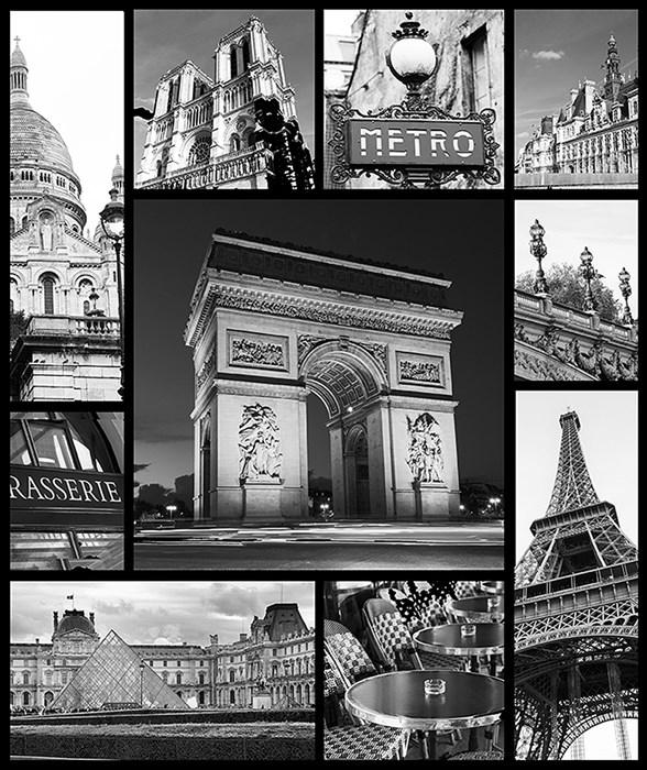Фотообои DIVINO DECOR A-042 Париж 200х238см - фото 15520