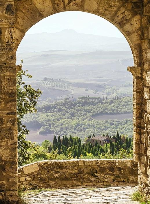 Фотообои DIVINO DECOR B-005 Вид на холмы 200х270см - фото 16018