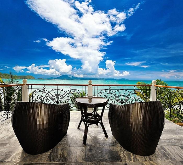 Фотообои DIVINO DECOR B-059 Кресла на балконе 300х270см - фото 16450