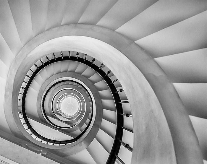 Фотообои DIVINO DECOR C-387 Винтовая лестница 300х238см - фото 16695