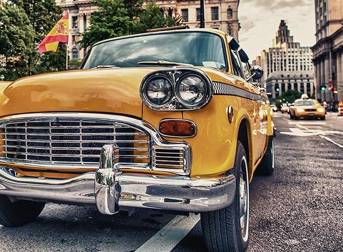 Фотообои DIVINO DECOR C-313 Желтое такси 200х147см - фото 17669