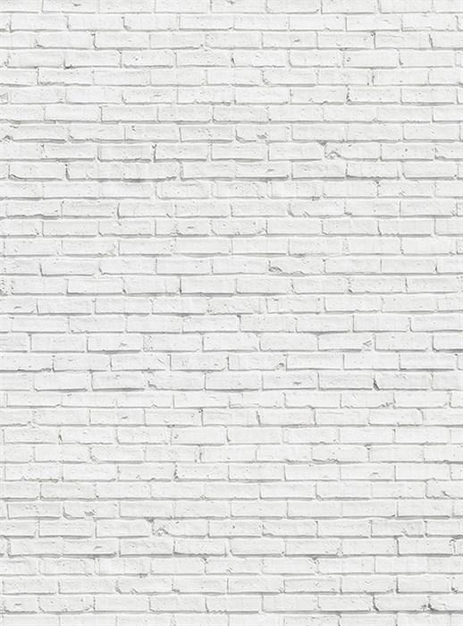 Фотообои DIVINO DECOR C-232 Кирпичная стена белая 200х270см - фото 17761