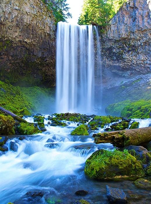 Фотообои DIVINO DECOR C-015 Водопад над речкой 200х270см - фото 17950