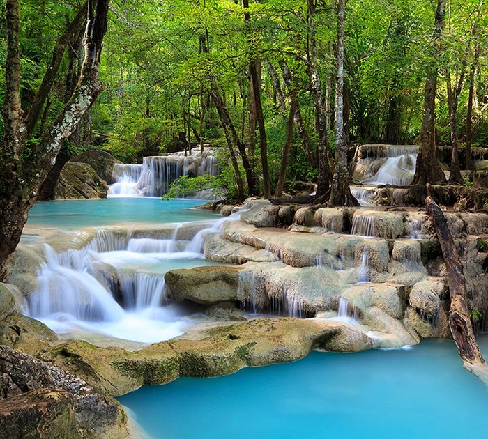Фотообои DIVINO DECOR C-016 Волшебный водопад 300х270см - фото 18039