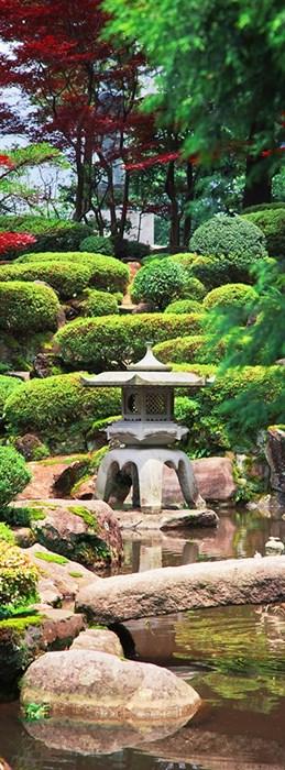 Фотообои DIVINO DECOR C-294 Японский сад 100х270см - фото 18357
