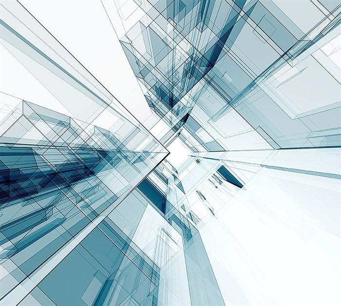 Фотообои DIVINO DECOR D-062 Абстрактная архитектура 300х270см - фото 18699