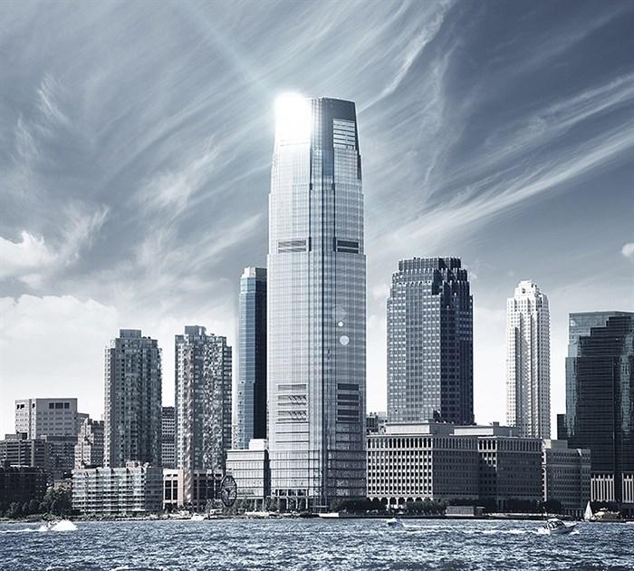 Фотообои DIVINO DECOR D-023 Небо над Нью-Йорком 300х270см - фото 19025