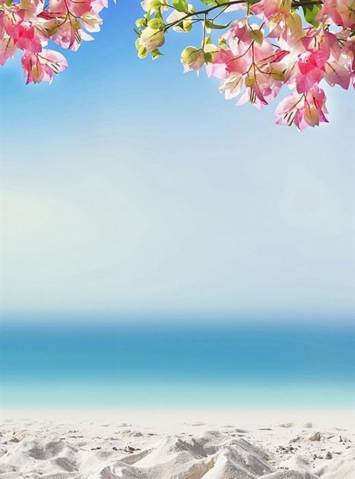 Фотообои DIVINO DECOR D-004 Песчанный пляж 200х270см - фото 19070