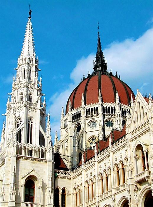 Фотообои DIVINO DECOR C-241 Парламент в Будапеште  200х270см - фото 19351
