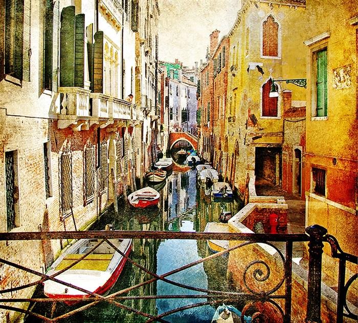 Фотообои DIVINO DECOR C-043 Каналы Венеции 300х270см - фото 19927