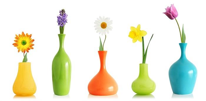 Фотообои DIVINO DECOR D-028 Цветы в вазах 300х147см - фото 20044