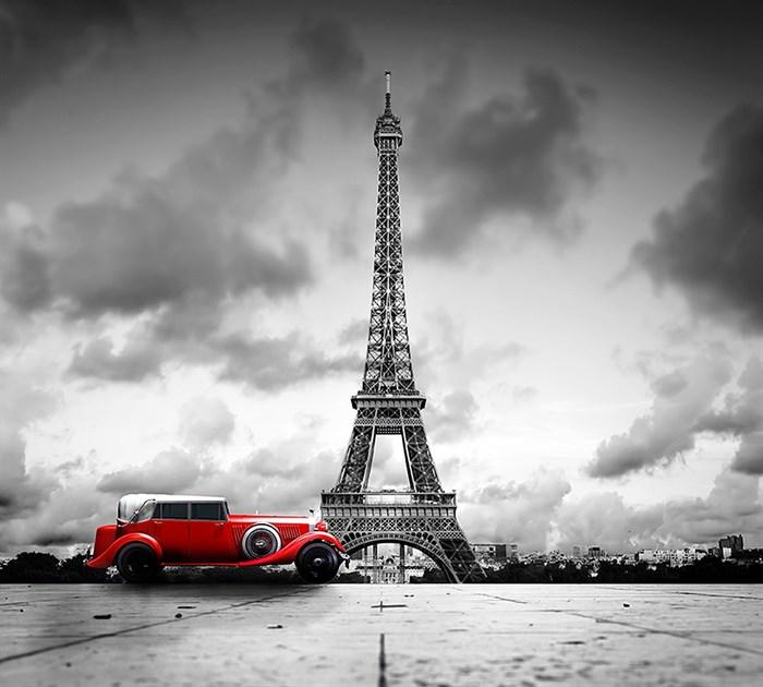 Фотообои DIVINO DECOR D-086 Красный авто 300х270см - фото 20153