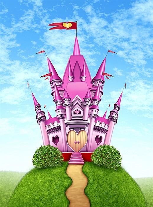 Фотообои DIVINO DECOR C-400 Замок принцессы 200х270см - фото 20288