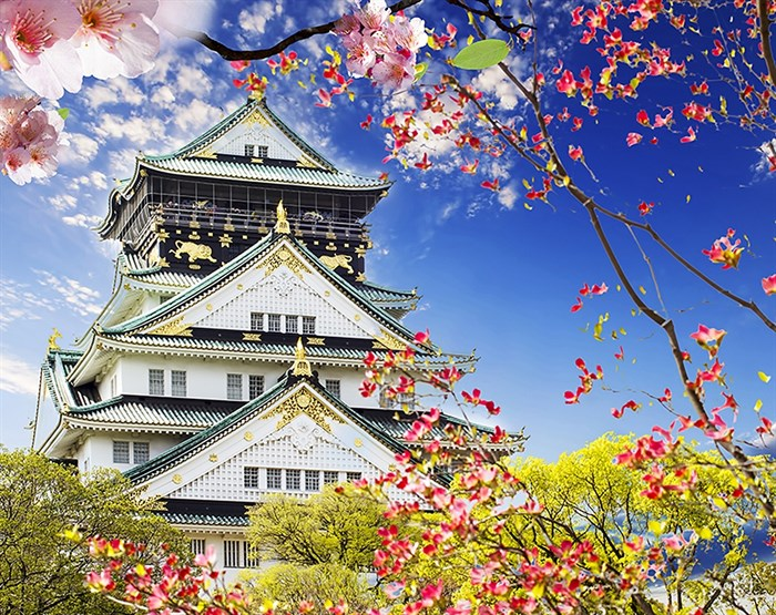 Фотообои DIVINO DECOR C-391 Замок в Осаке 300х238см - фото 20742