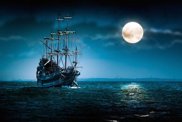 Фотообои DIVINO DECOR E-027 Корабль в ночи 400х270см - фото 20992