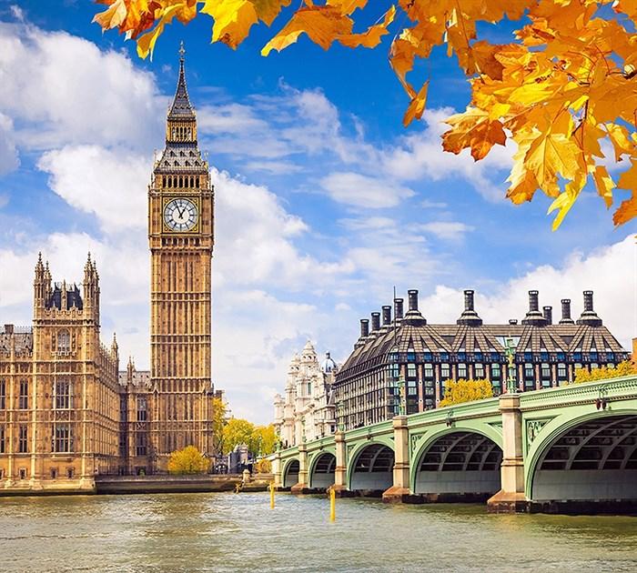 Фотообои DIVINO DECOR C-062 Осенний Лондон 300х270см - фото 21400