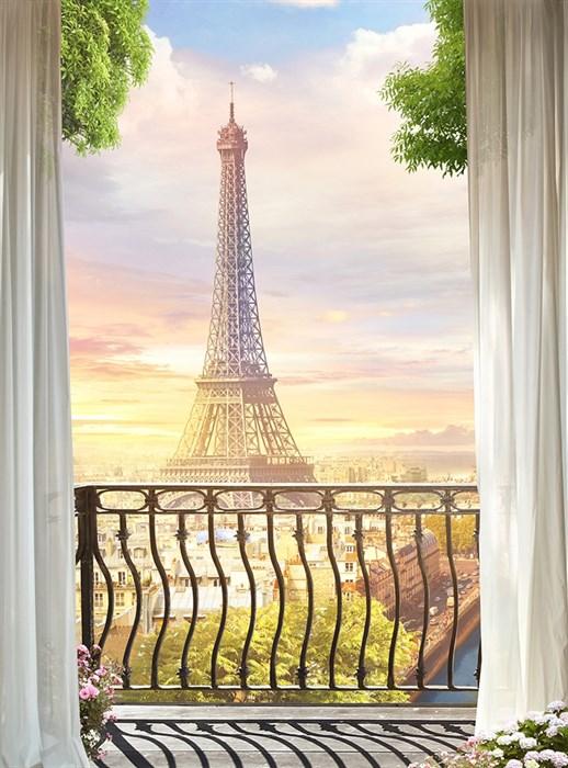 Фотообои DIVINO DECOR H-014 Парижское утро 200х270см - фото 21859