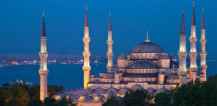 Фотообои DIVINO DECOR C-339 Стамбул. Голубая мечеть 300х147см - фото 21932