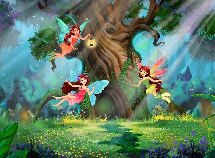 Фотообои DIVINO DECOR H-091 Волшебный лес 200х147см - фото 22196