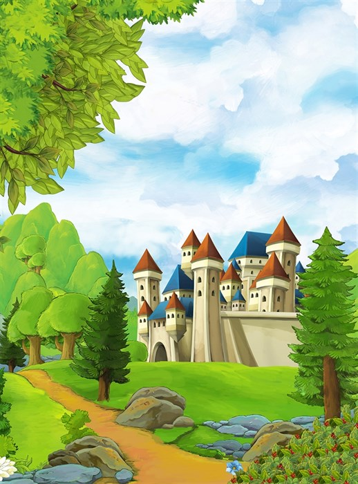 Фотообои DIVINO DECOR H-054 Замок на холме 200х270см - фото 22232