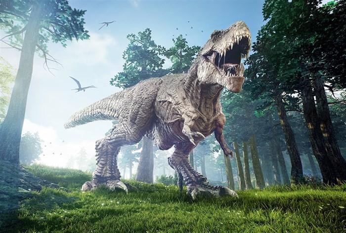Фотообои DIVINO DECOR H-049 Тираннозавр 400х270см - фото 22323