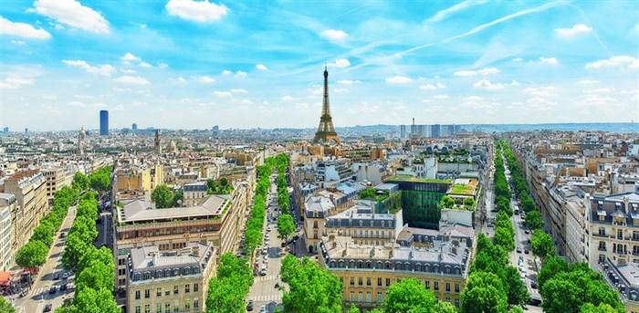 Фотообои DIVINO DECOR K-026 Панорама Парижа 300х147см - фото 22549