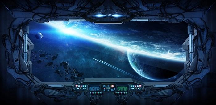 Фотообои DIVINO DECOR K-074 У астероидов  300х147см - фото 22577