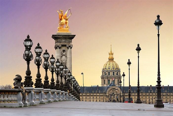 Фотообои DIVINO DECOR K-027 Площадь Парижа 400х270см - фото 22612
