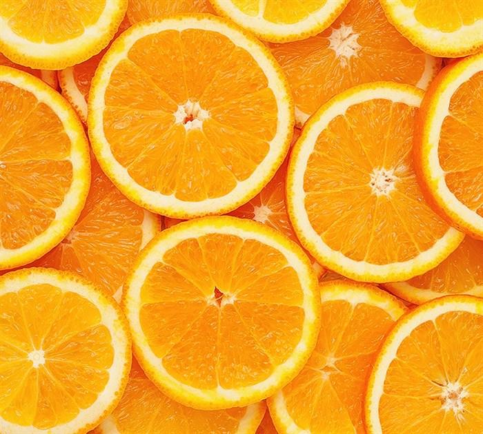Фотообои DIVINO DECOR C-026 Апельсиновый фон 300х270см - фото 23277