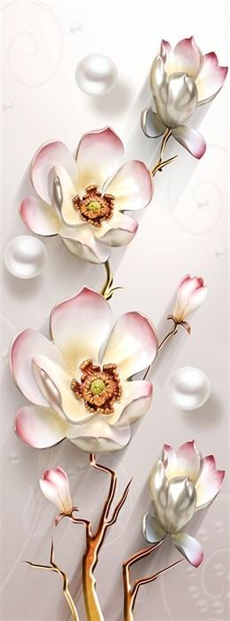 Фотообои DIVINO DECOR T-268 Цветок 100х270см - фото 24107