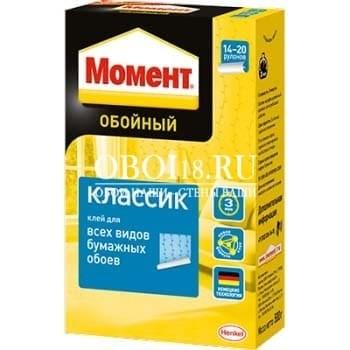Клей для обоев МОМЕНТ Классик, 200 гр.