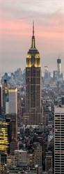 Фотообои DIVINO DECOR A-086 Небоскребы Нью-Йорка 100х270см