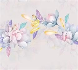 Фотообои DIVINO DECOR T-015 Акварельные цветы 300х270см