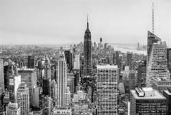 Фотообои DIVINO DECOR T-168 Нью-Йорк чб 400х270см