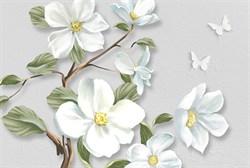 Фотообои DIVINO DECOR T-033 Белые цветы на ветке 400х270см