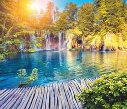 ФОТООБОИ СИМФОНИЯ К-137 Плитвицкие озера. Хорватия 210х200см