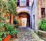 Фотообои DIVINO DECOR A-033 Улочка Тосканы 300х270см - фото 10886