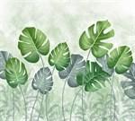 Фотообои DIVINO DECOR T-244 Тропические листья 300х270см - фото 13692