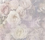 Фотообои DIVINO DECOR T-064 Винтажные цветы с вензелями 300х270см - фото 14702