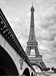 Фотообои DIVINO DECOR A-077 Эйфелева башня чб  200х270см - фото 15511