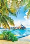 ФОТООБОИ BELLISSIMO B-043 Сказочные Мальдивы 140х200 см Симфония - фото 15952