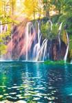 ФОТООБОИ BELLISSIMO B-045 Горный водопад 140х200 см Симфония - фото 15955