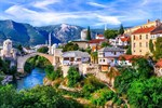ФОТООБОИ СИМФОНИЯ К-195 Старый город Мостар 280х200см - фото 15970